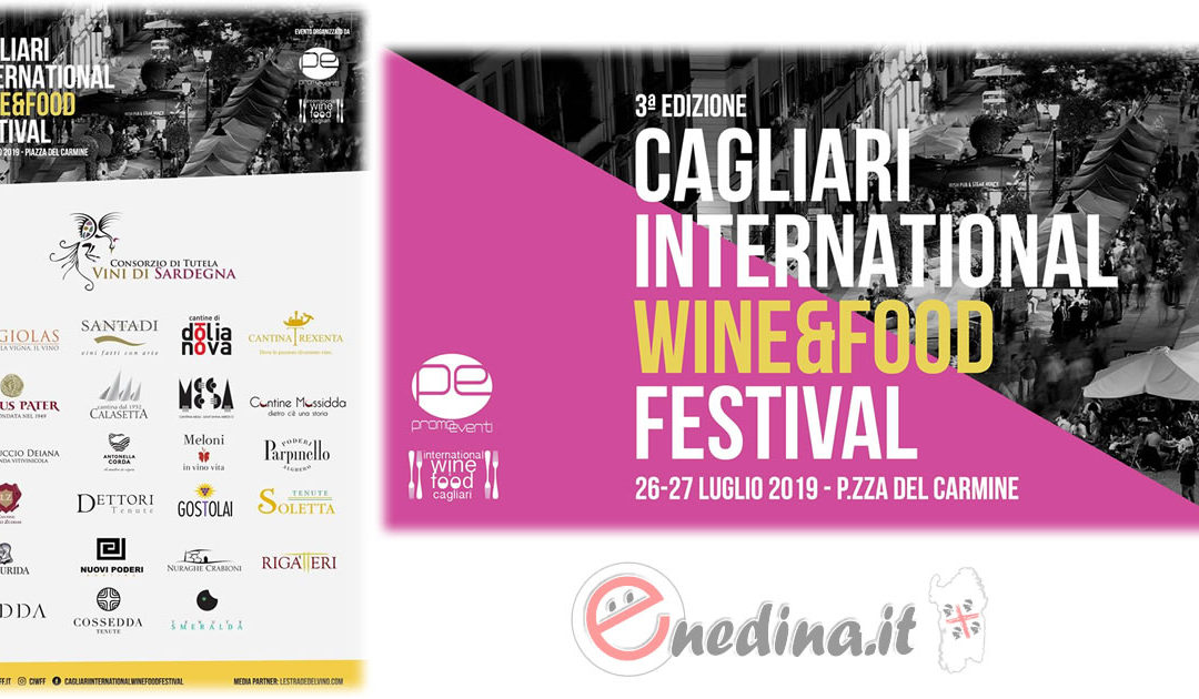Cagliari International Wine & Food Festival, torna la festa del vino in piazza